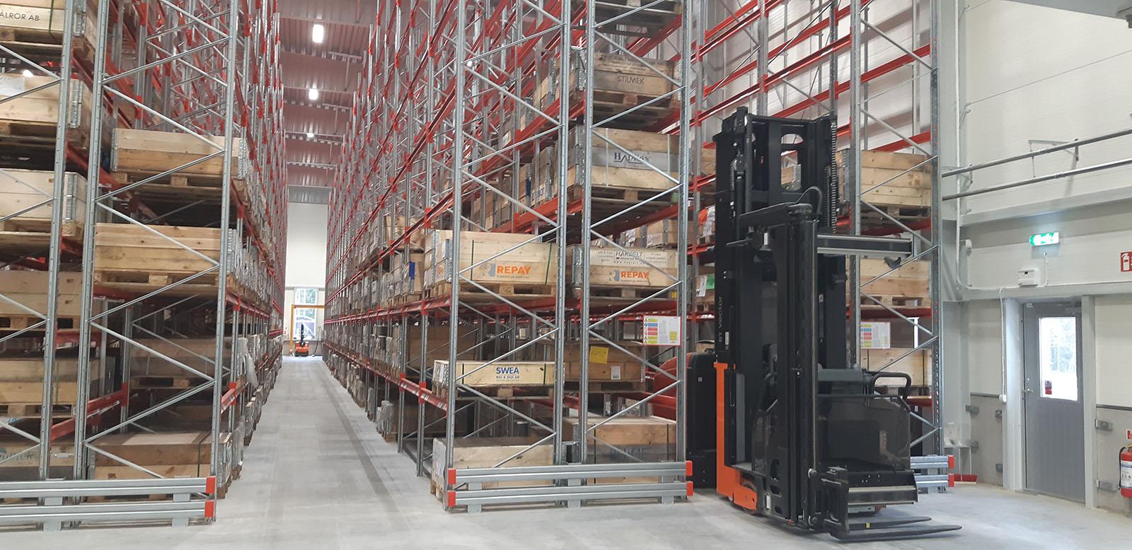 Tegsnäs Logistics inomhuslager